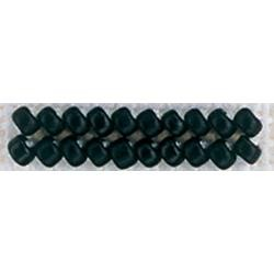 Black - Mill Hill Frosted Glass Seed Beads 2.5mm 4.25g
