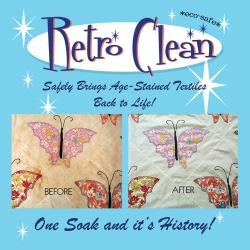 Retro Clean Stain Remover for Textiles 4 oz