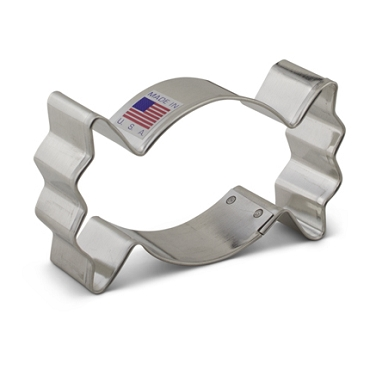 Candy, Wrapped - Cookie Cutter 3 5/8 inch