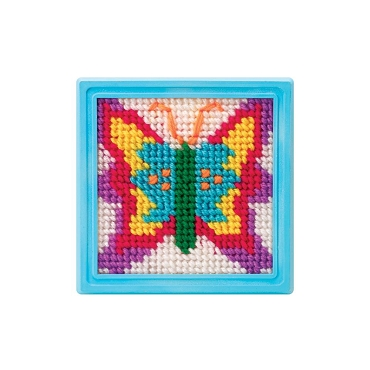 Butterfly Simply Needlepoint Kit - by ALEX