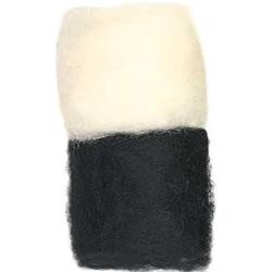 Black & White - Dimensions Feltworks Bulk Roving 3.17 oz