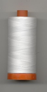 White MAKO 50 Long Staple Cotton Quilting Thread 1422yd