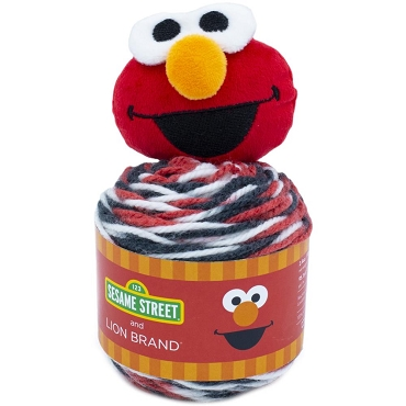 Elmo - Lion Brand Sesame Street One Hat Wonder Yarn