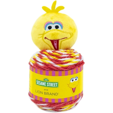 Big Bird - Lion Brand Sesame Street One Hat Wonder Yarn