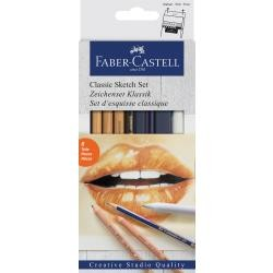 Classic Sketch Set - 6 pc - Faber-Castell