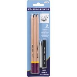 Pro Art - Charcoal Pencils - 5 pc set